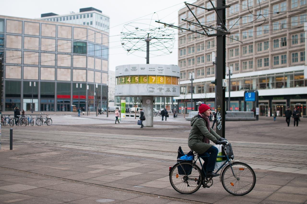 Alexanderplatz, světové hodiny