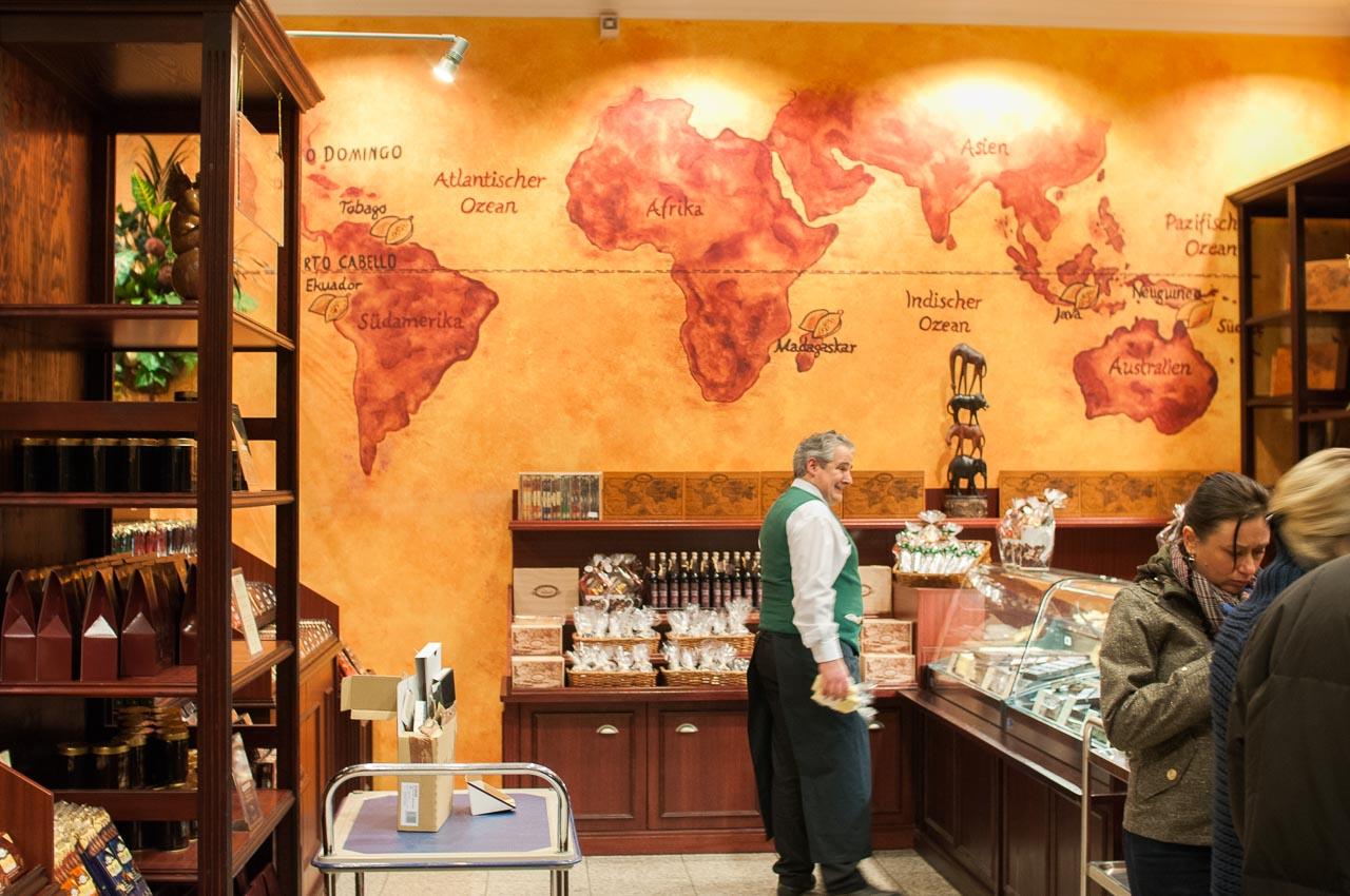 Obchod s čokoládou