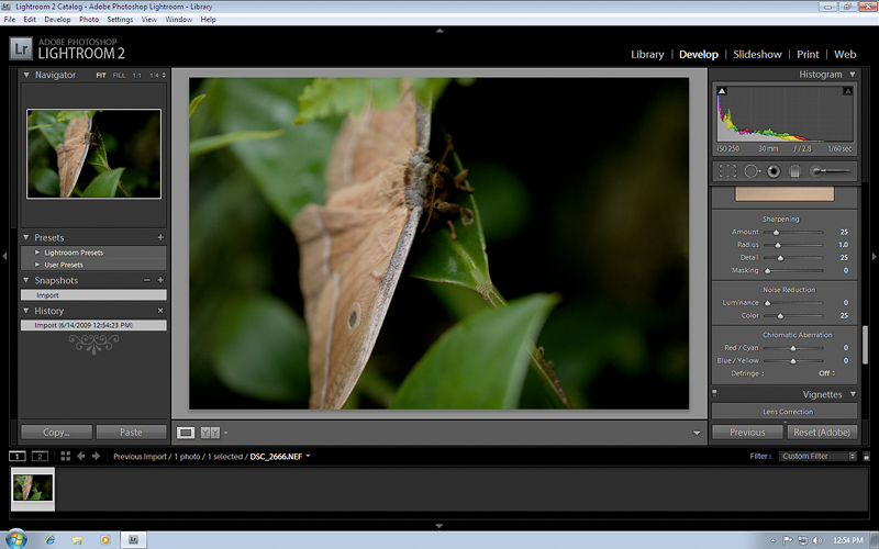 Photoshop Lightroom 2