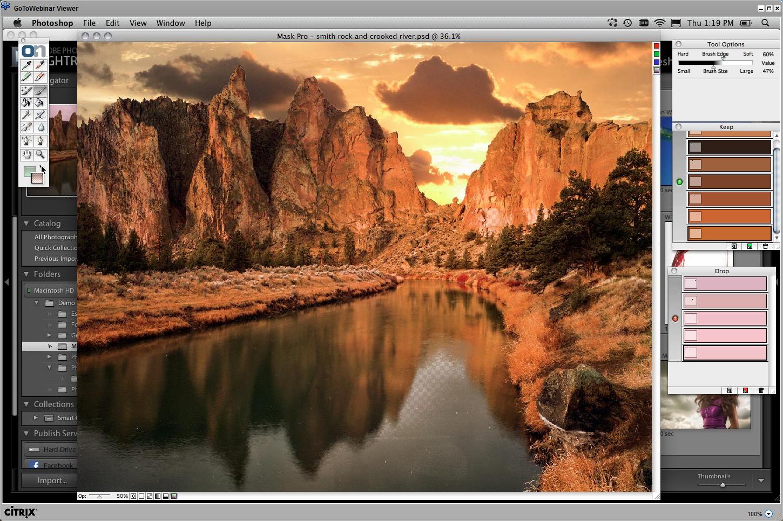 Webinář Landscape, editace oblohy
