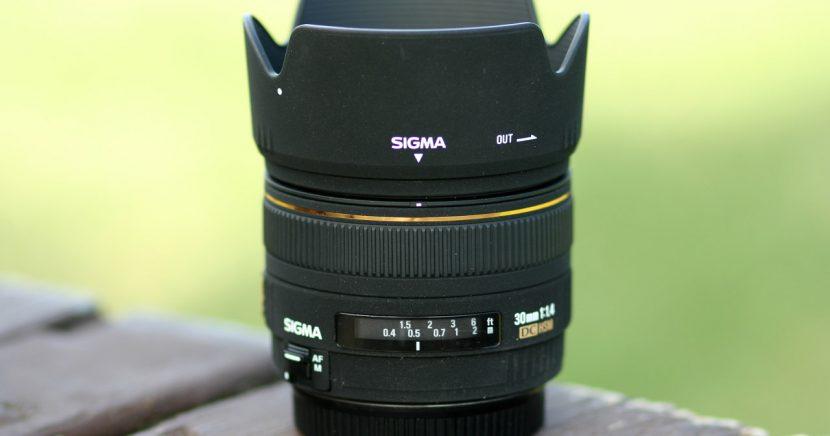 SIGMA 30mm F1.4 – zkušenosti