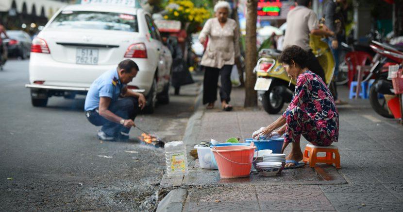 Ho Chi Minh City, město zaplněné úsměvy