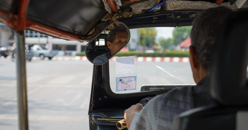 Nalehko do Thajska, první den v ulicích Chiang Mai
