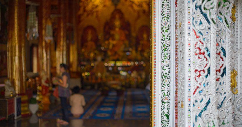 Nalehko do Thajska, buddhistické chrámy v okolí Chiang Mai