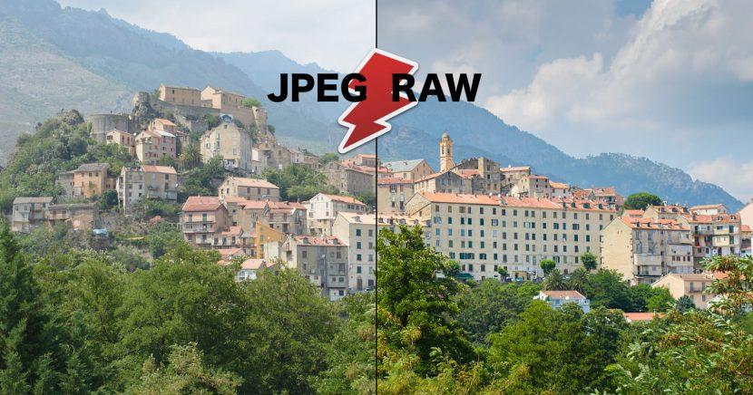 Proč používám RAW a ne JPEG?