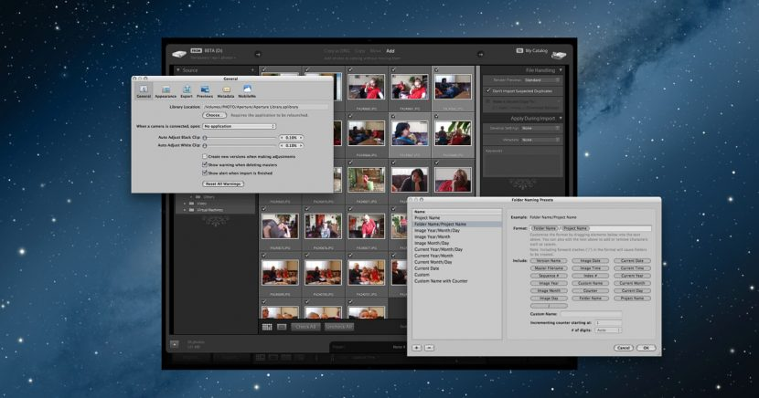 Migrace fotografií z Aperture do Photoshop Lightroom