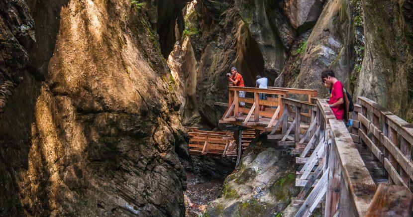 Soutěsky rakouských Alp